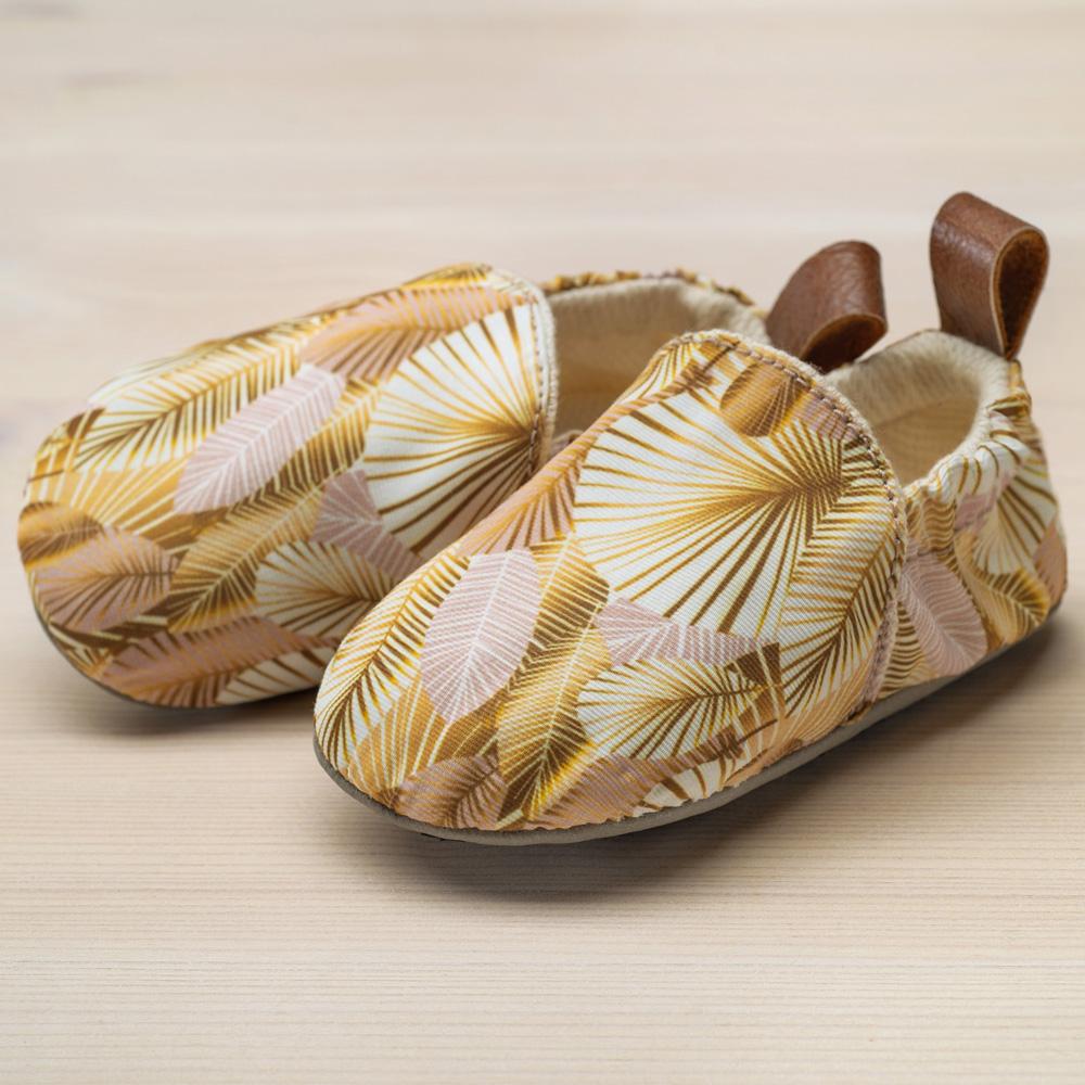 pololo-textilschuh-seaqual-aquaseal-motiv-golden-palms-seitlich