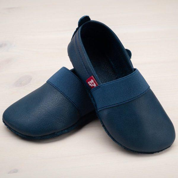 pololo-nos-barfuss-hausschuh-elastico-ledersohle-blau-seitlich