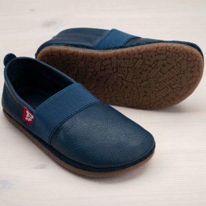 pololo-nos-barfuss-strassenschuh-elastico-tpr-sohle-blau-seitlich