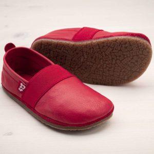 pololo-nos-barfuss-strassenschuh-elastico-tpr-sohle-rot-seitlich