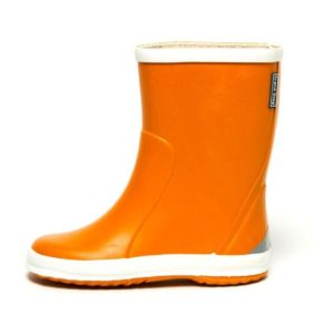 pololo-gummistiefel-orange-seitlich-links