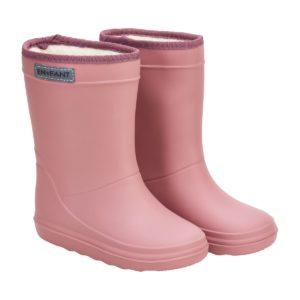 enfant-gummistiefel-wollfutter-pink-seitlich
